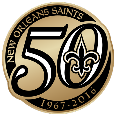 Saints50 Logo